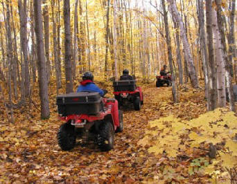Fall Touring Destinations for ATVing in Ontario
