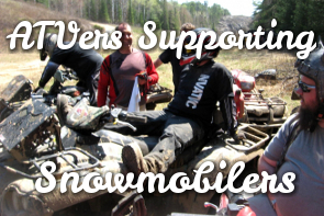 All in the Family – ATVers in Support of Ontario Snowmobiling!