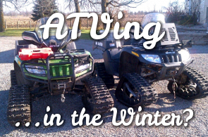 ATVing in the Winter? Grooming Trails in Nation Valley, North Dundas