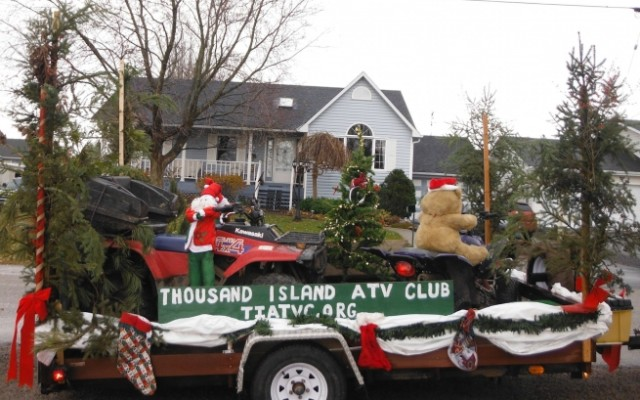 Christmas Come Early! The Thousand Islands gets its own ATV Club
