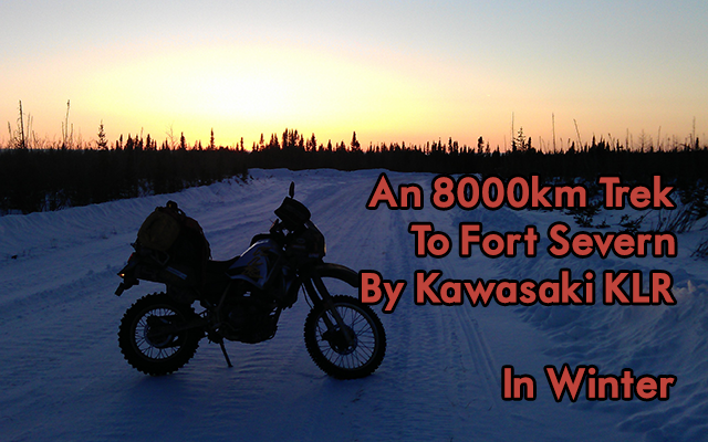 An 8000km Adventure to Hudson's Bay on Two Wheels. In Winter.
