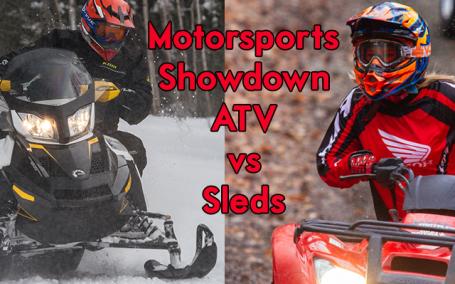 atvs versus sleds