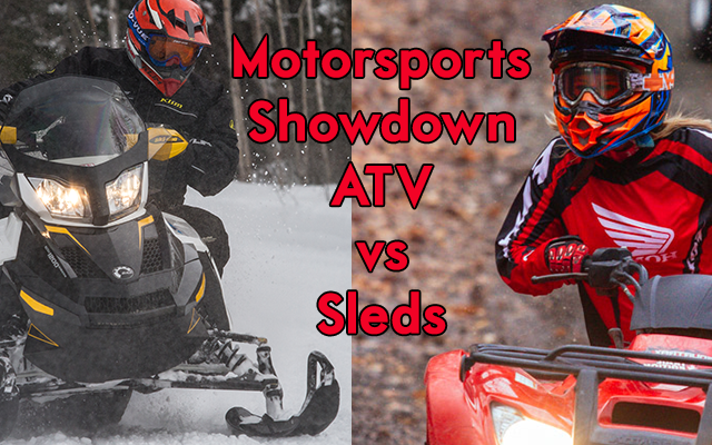 Motorsports Head-to-Head – ATVing or Snowmobiling?