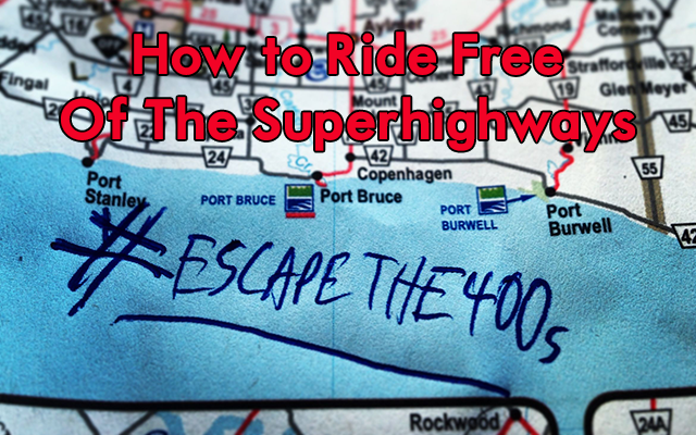 Escape the 400s – Ride Free of The Superhighways