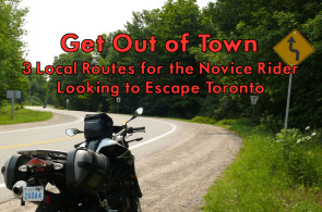 Routes for Novice Rider Out of Toronto