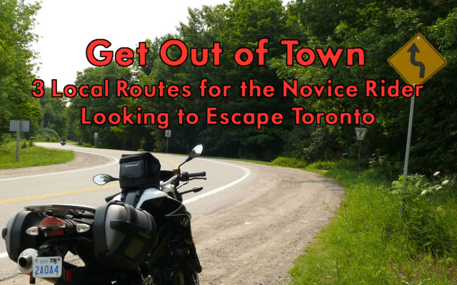 Get Out of Town—3 Local Routes for the Novice Rider Looking to Escape Toronto