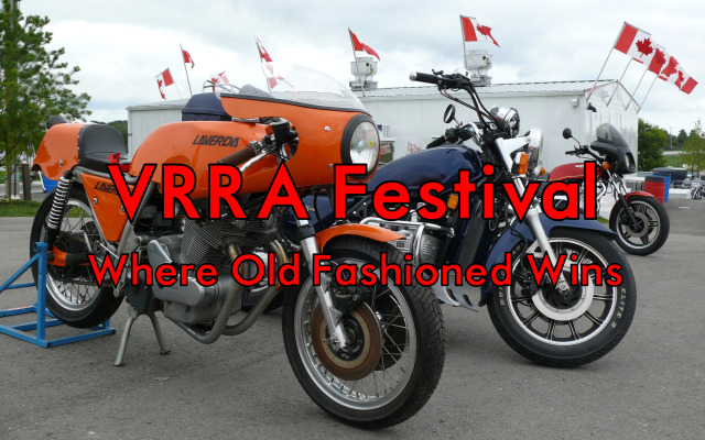 Ontario's Vintage Motorcycle Road Racing Festival—Where Old Fashioned Wins!