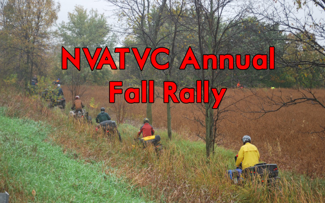 Nation Valley ATV Club Annual Fall Rally