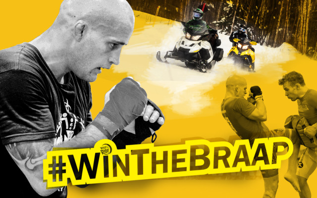 UPDATE – WINNER ANNOUNCED #WinTheBraap with Mitch Gagnon!