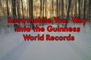 Snowmobile Your Way Into the Guinness World Records