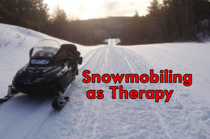 snowmobiling as therapy