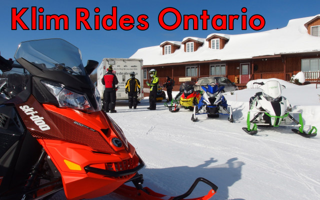 Klim Rides in Voyageur Country – First Time Riding the Trails in Ontario