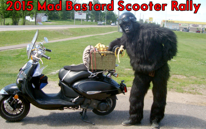 The 2015 Mad Bastard Scooter Rally