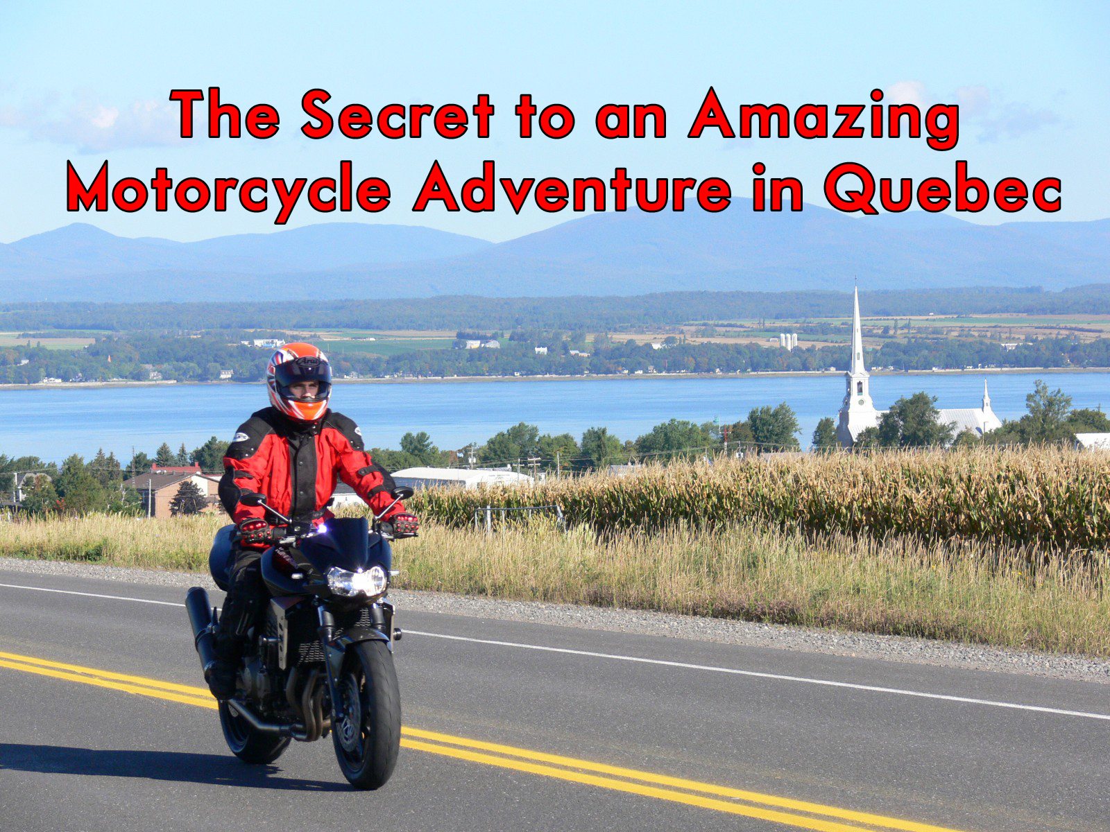 free motorcycle parking uxbridge  The Secret to an Amazing Motorcycle Adventure in Quebec