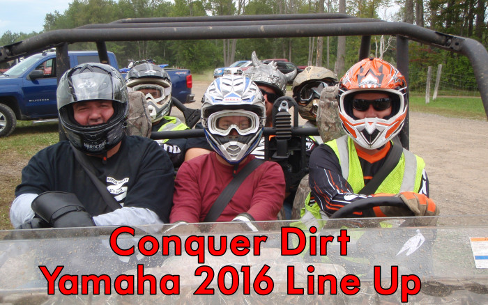 The Nation Valley ATV Club Checks Out the Yamaha Conquer Dirt 2016 Line Up