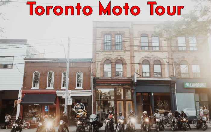 The Toronto Moto Tour with our Friends from the #HiloProject – A Motorcycle Route Through The Big Smoke