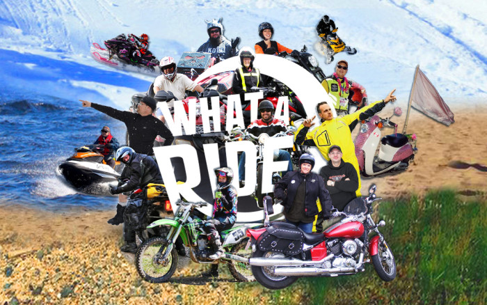 Meet the What A Ride Team!