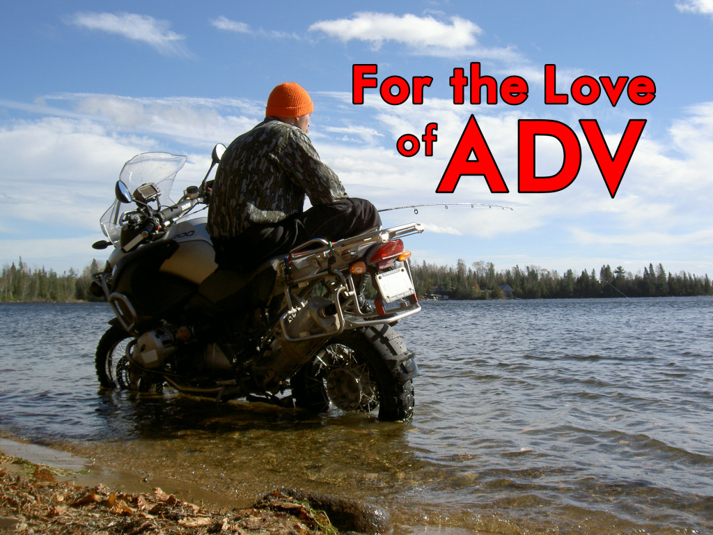 For the love of ADV cover