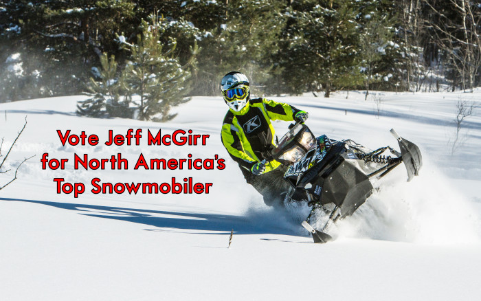 Jeff McGirr Advances to Semi Finals of North America's Top Snowmobiler Contest