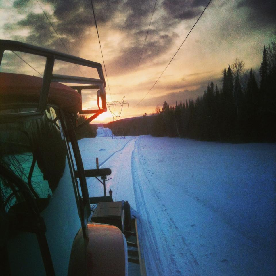 groomer sunset