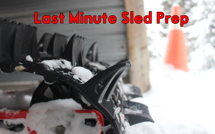 Last Minute Sled Prep – Are You Ready for Snowmobile Season?