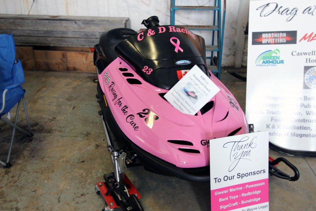 pink sled