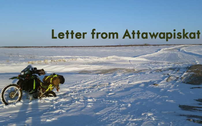 Letter from Attawapiskat