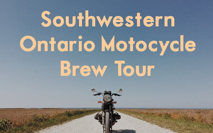 Moto Brew Tour in Ontario's Southwest